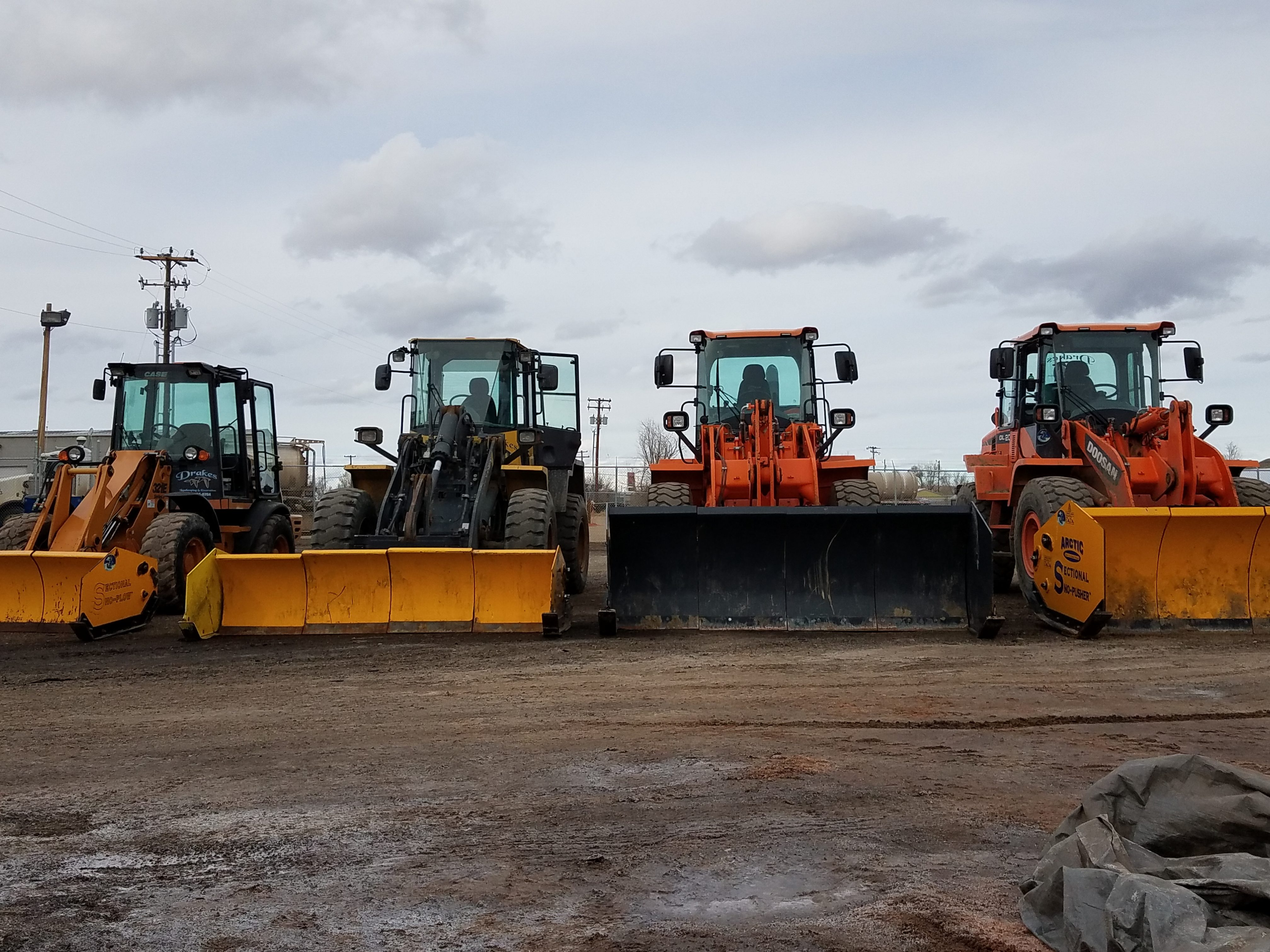 Our Fleet of Loaders
